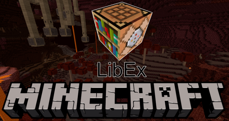 LibEx mod for minecraft logo