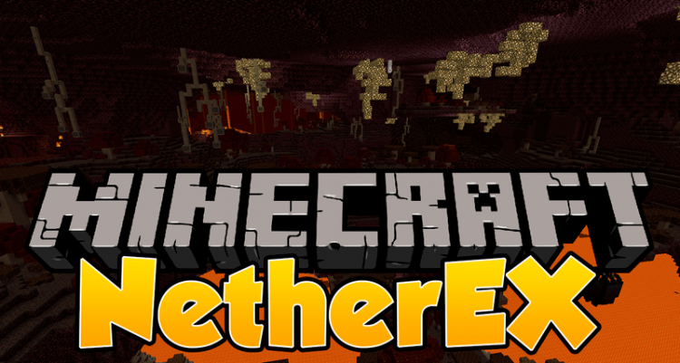 NetherEX mod for minecraft logo