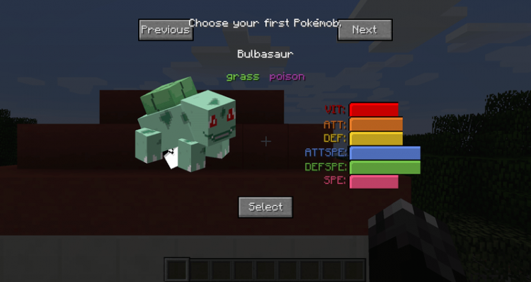Pokecube AIO mod for minecraft 01