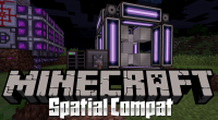 SpatialCompat mod for minecraft logo