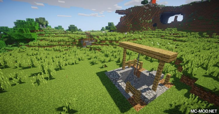 Addtional Structures mod for Minecraft 08