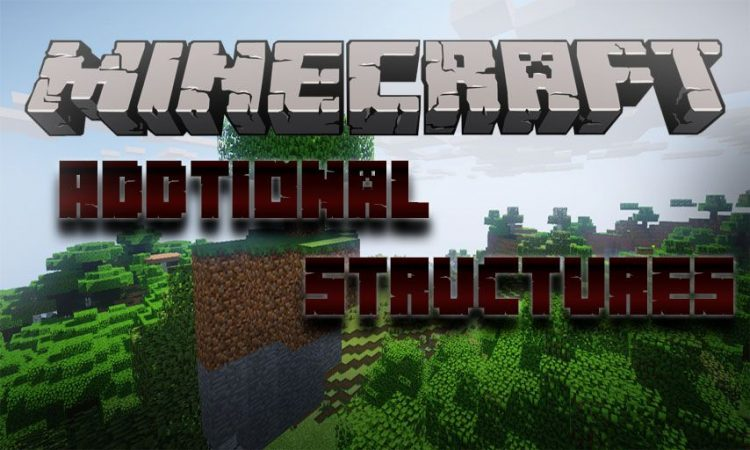 Addtional Structures mod for Minecraft logo