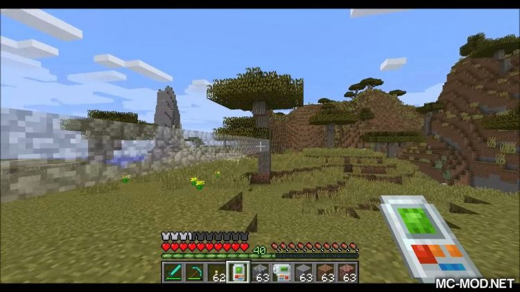 Building Gadgets mod for minecraft 01