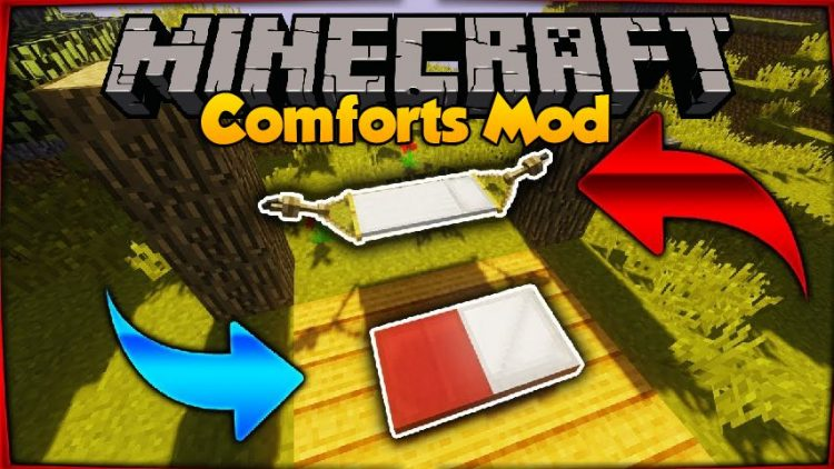 Comforts mod for minecraft logo