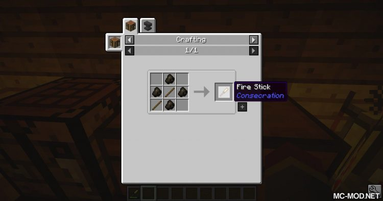 Consecration mod for Minecraft (1)