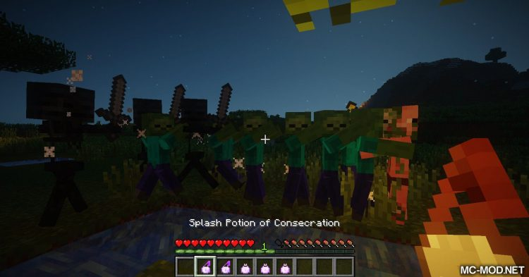 Consecration mod for Minecraft (22)