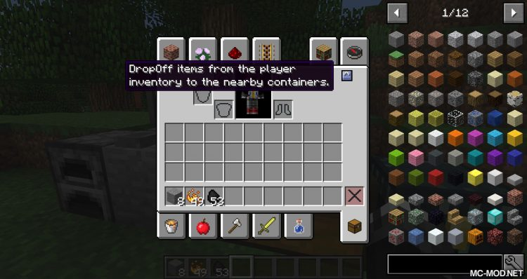 DropOff mod for minecraft 05