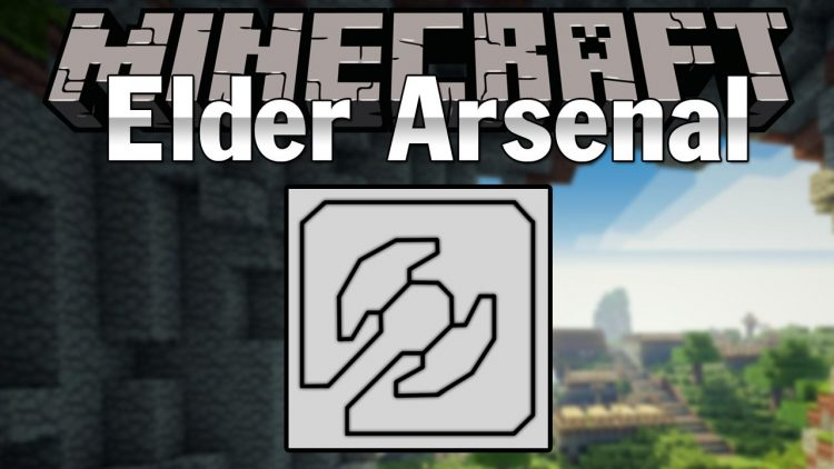Elder Arsenal mod for minecraft logo