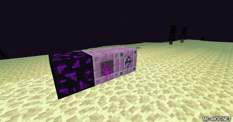 End Reborn mod for Minecraft 05