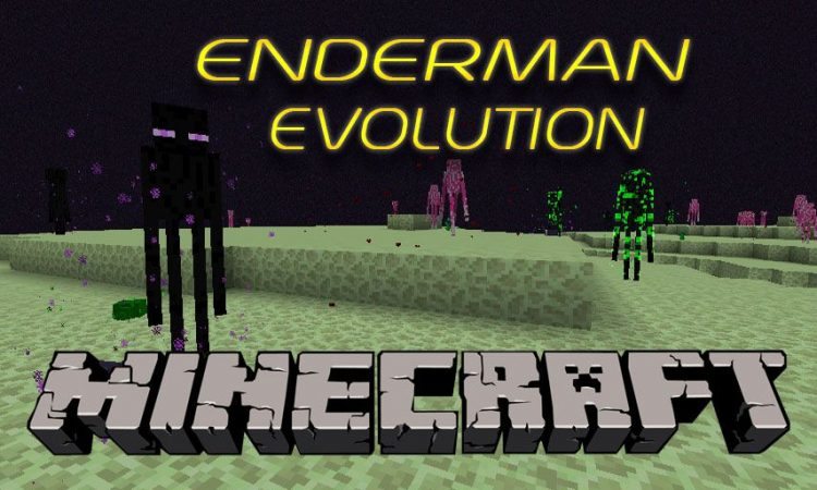 Enderman Evolution mod for Minecraft logo