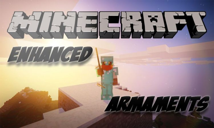 Enhanced Armaments mod for Minecraft logo