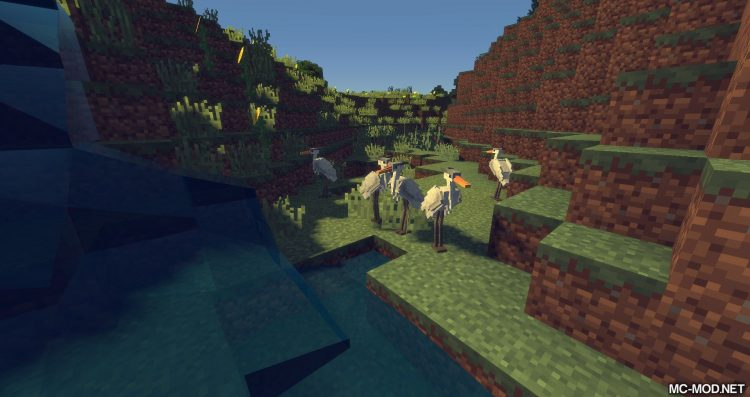 Exotic Birds mod for minecraft 08