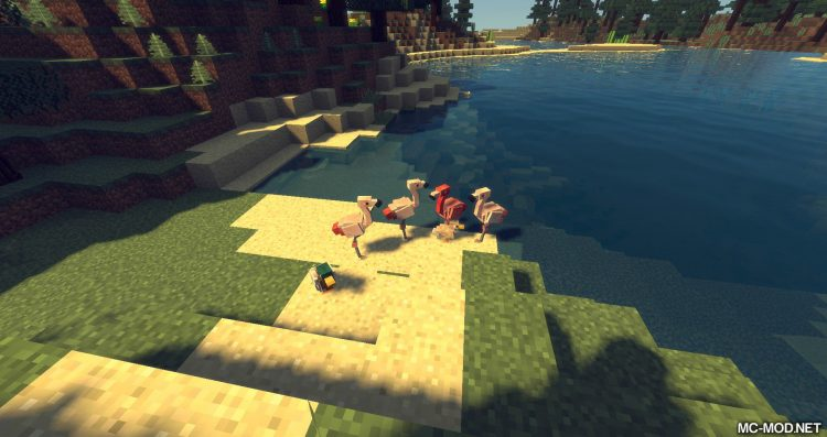 Exotic Birds mod for minecraft 09