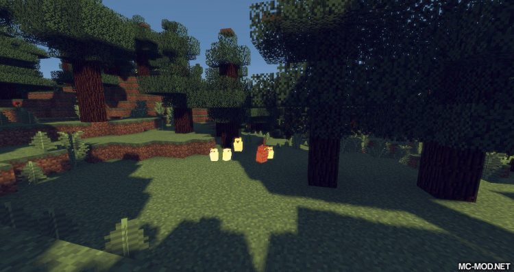 Exotic Birds mod for minecraft 16