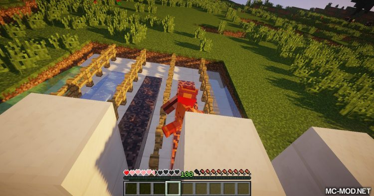Flowing Blocks mod for Minecraft 05