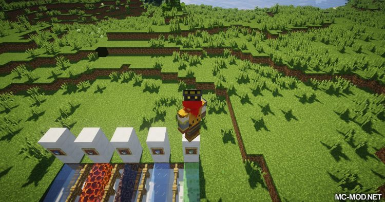 Flowing Blocks mod for Minecraft 06