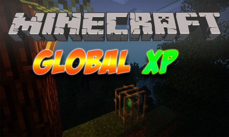 Global XP mod for Minecraft logo