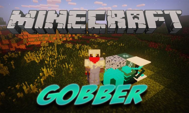 Gobber mod for Minecraft logo