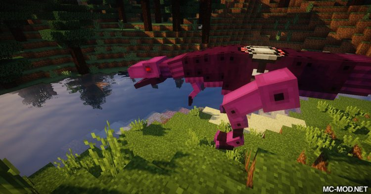 Laser Creeper Robot Dino Riders From Space mod for Minecraft 09