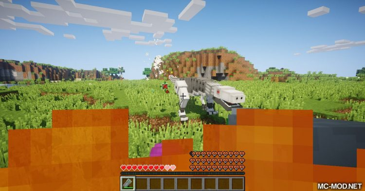 Laser Creeper Robot Dino Riders From Space mod for Minecraft 13
