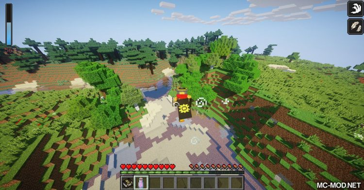 LemonLib mod for Minecraft (3)