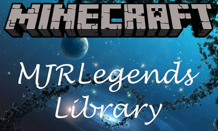MJRLegends Lib mod for minecraft logo