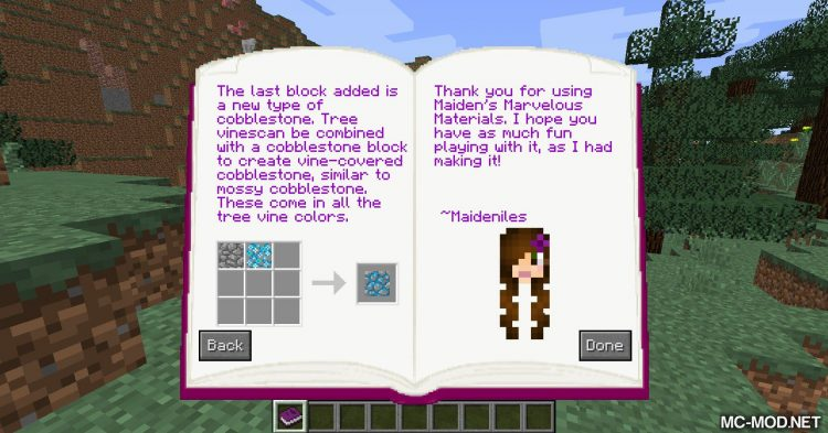 Maiden_s Marvelous Materials mod for Minecraft (2)