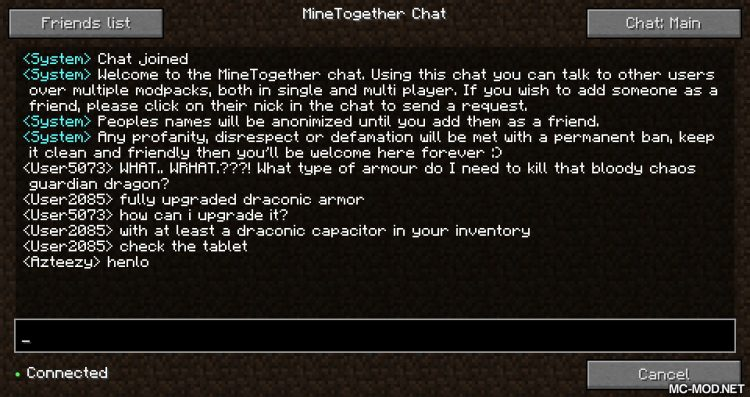 MineTogether mod for minecraft 08