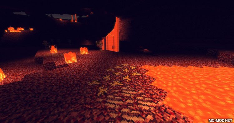 Nether Gold Ore mod for minecraft 04