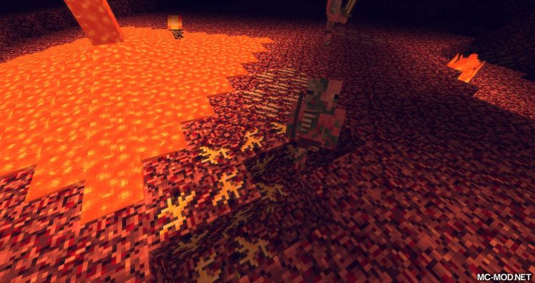 Nether Gold Ore mod for minecraft 07