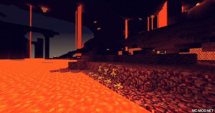 Nether Gold Ore mod for minecraft 08