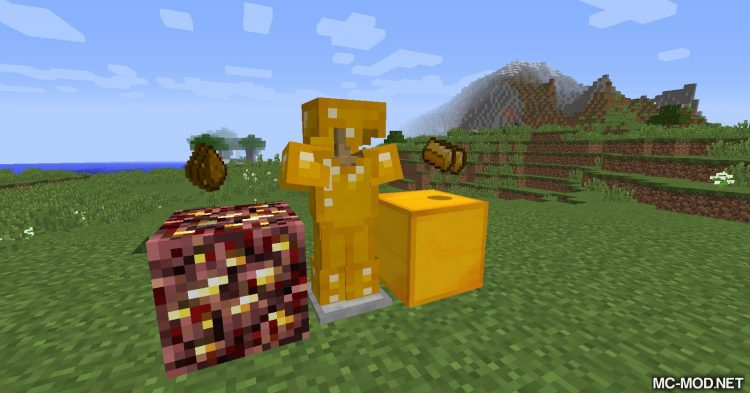 Nether Gold mod for Minecraft 09