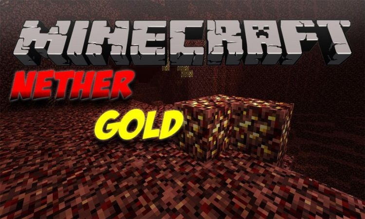 Nether Gold mod for Minecraft logo