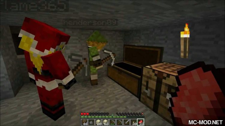 Player Revive mod for minecraft 01