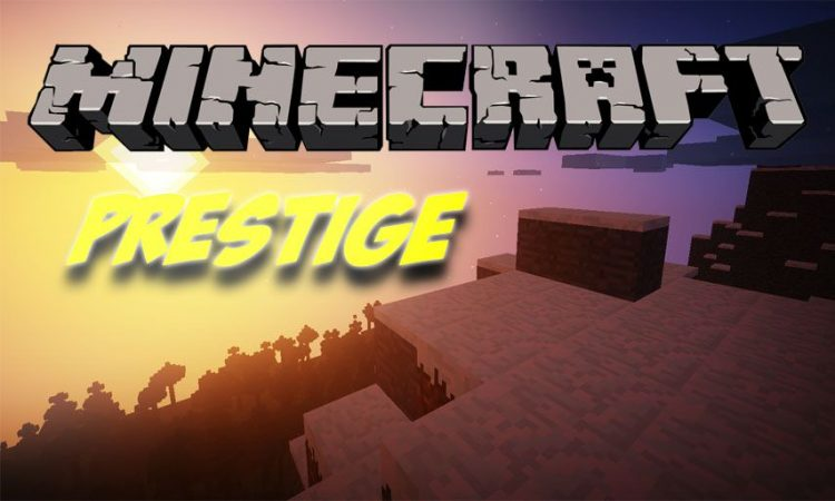 Prestige mod for Minecraft logo