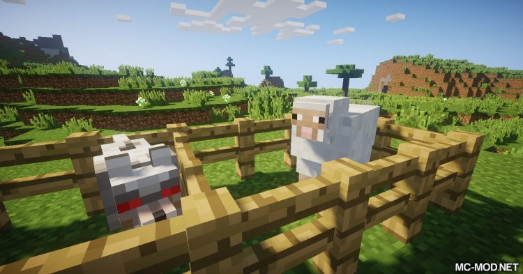 Punch Wool Off Sheep mod for Minecraft (6)