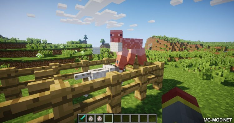 Punch Wool Off Sheep mod for Minecraft (7)