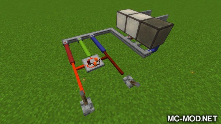SimpleLogic Wires mod for minecraft 04