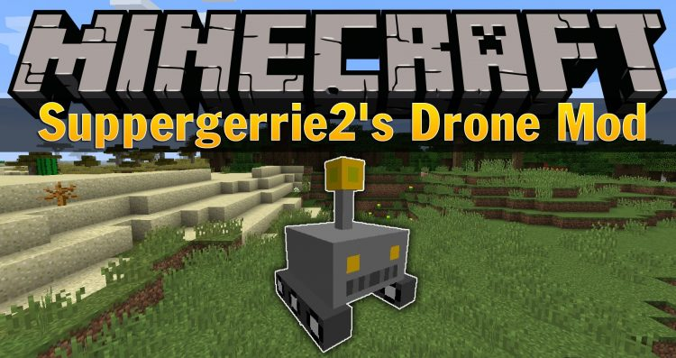 Suppergerrie2s Drone Mod for minecraft logo