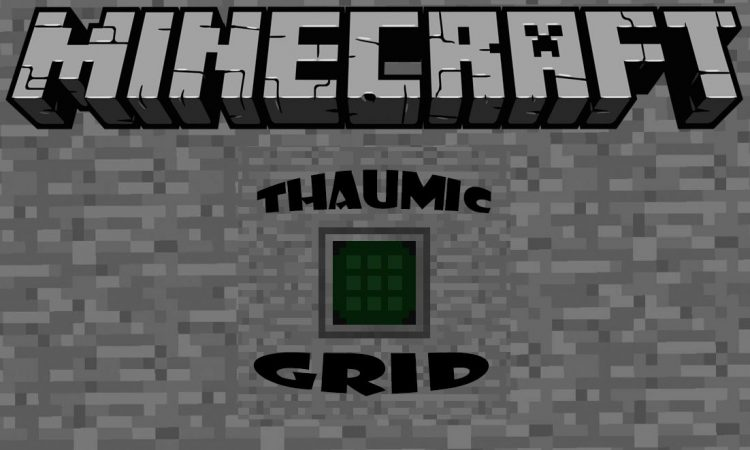 Thaumic Grid mod for minecraft logo