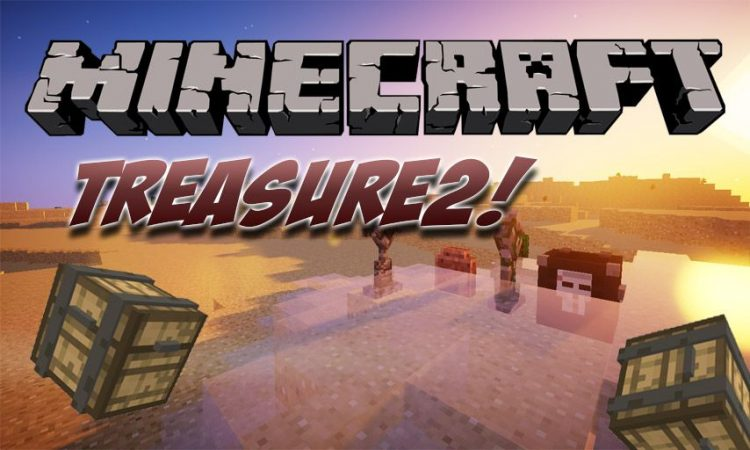 Treasure2! mod for Minecraft logo