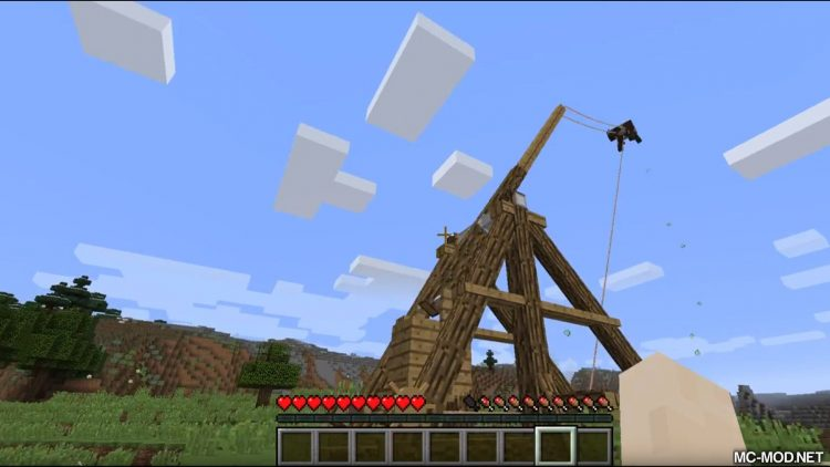 Trebuchet mod for minecraft 08