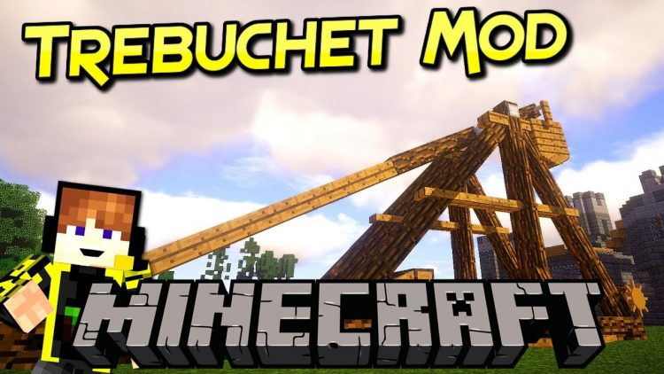 Trebuchet mod for minecraft logo