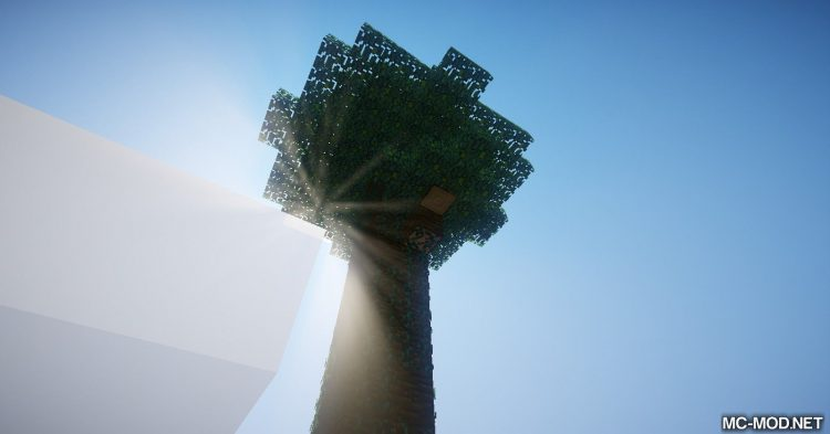 Trees of Stages mod for Minecraft (12)