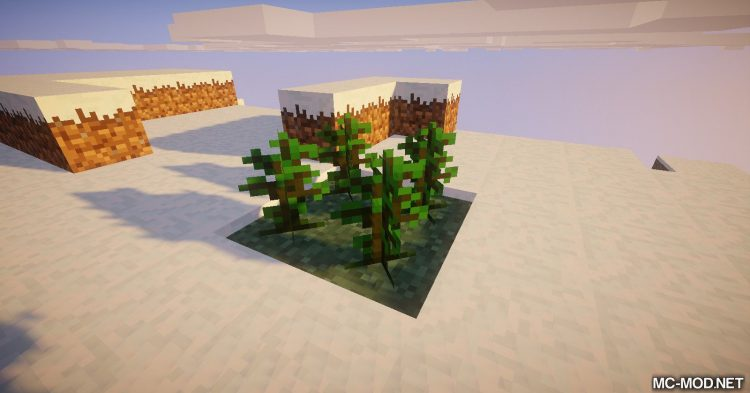 Trees of Stages mod for Minecraft (9)