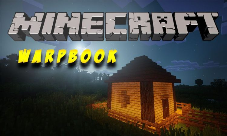 Warp Book mod for Minecraft logo