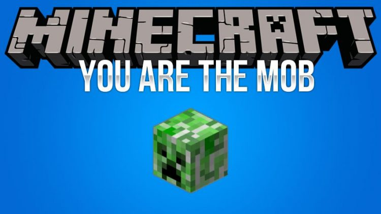 You are the mob mod for minecraft logo