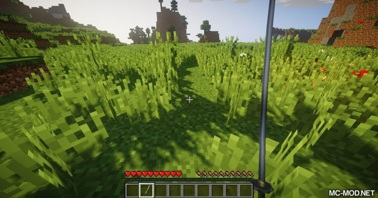 dotHack Weapons mod for Minecraft (1)