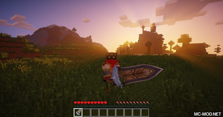 dotHack Weapons mod for Minecraft (5)