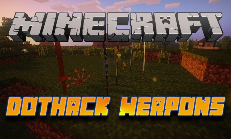 dotHack Weapons mod for Minecraft logo